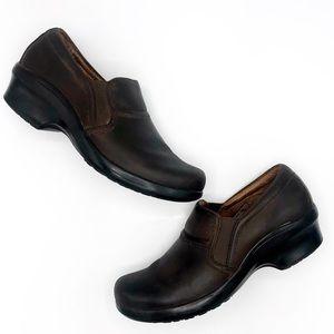 Ariat Sutter Brown Nubuck Comfort Clog SZ 10